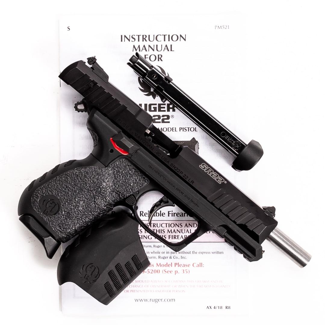 RUGER SR22PB-EX