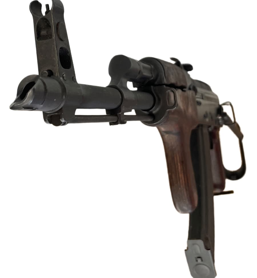 AK-47 DESIGN CARBINES, RIFLES, & PISTOLS Morrissey Romanian MD-63/65 With Dong Grip and Original 30 Round Magazine