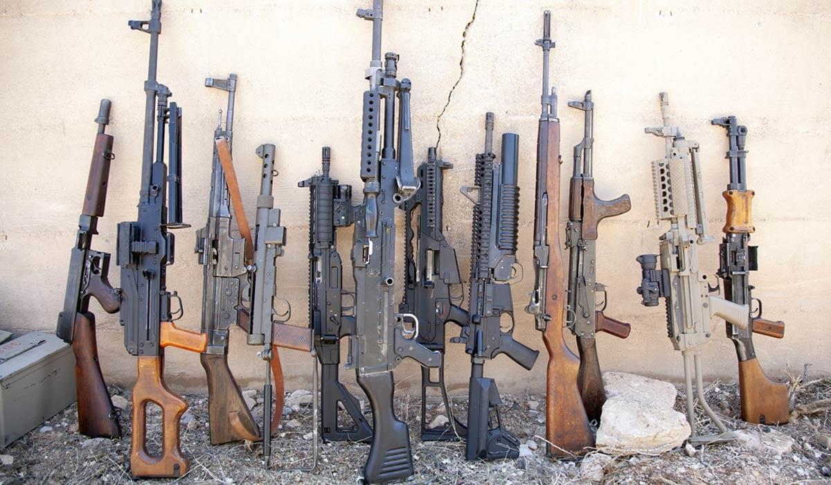 Battle Field Vegas Machine Guns