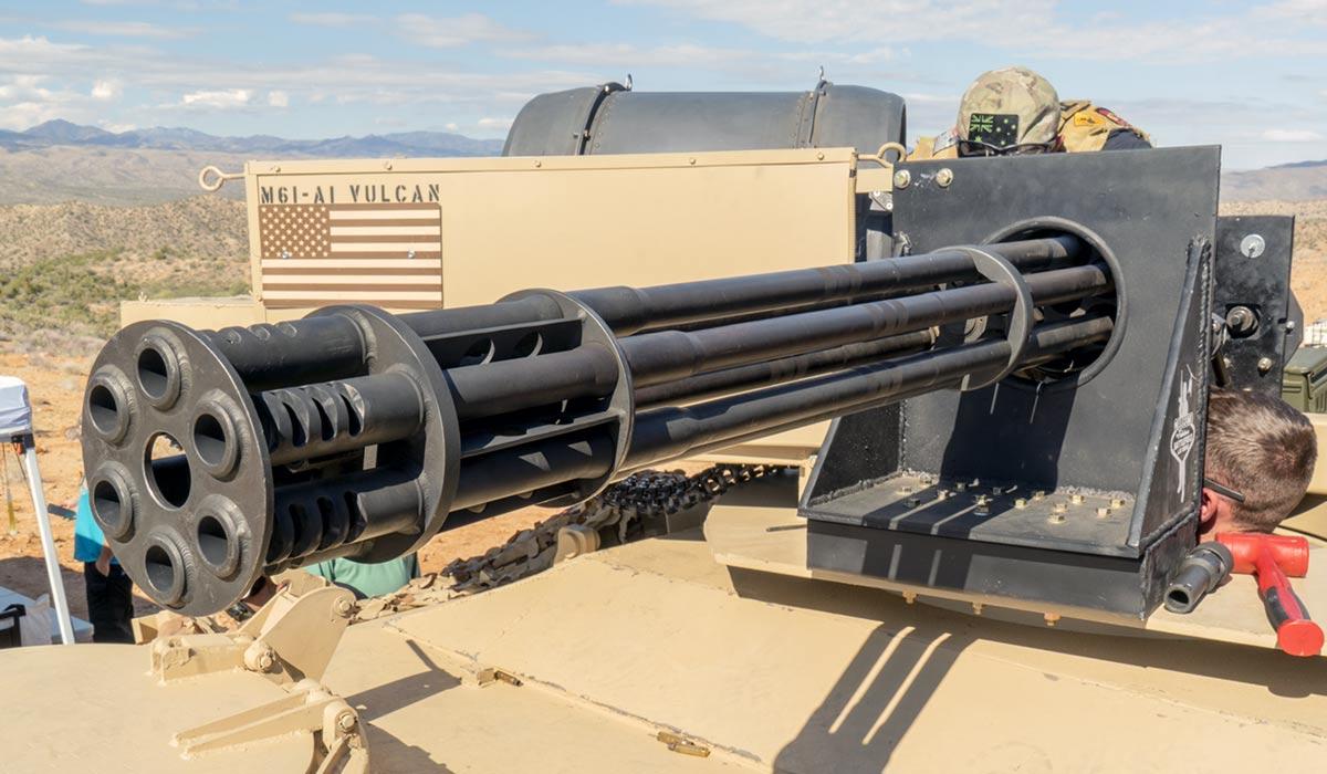 Battlefield Vegas M61 20mm Vulcan cannon The Hand of God