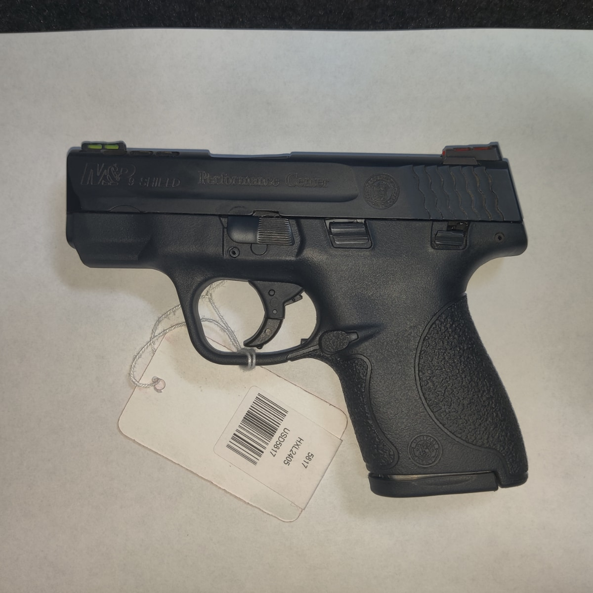 SMITH & WESSON M&P9 SHIELD PERFORMANCE CENTER Ported Slide