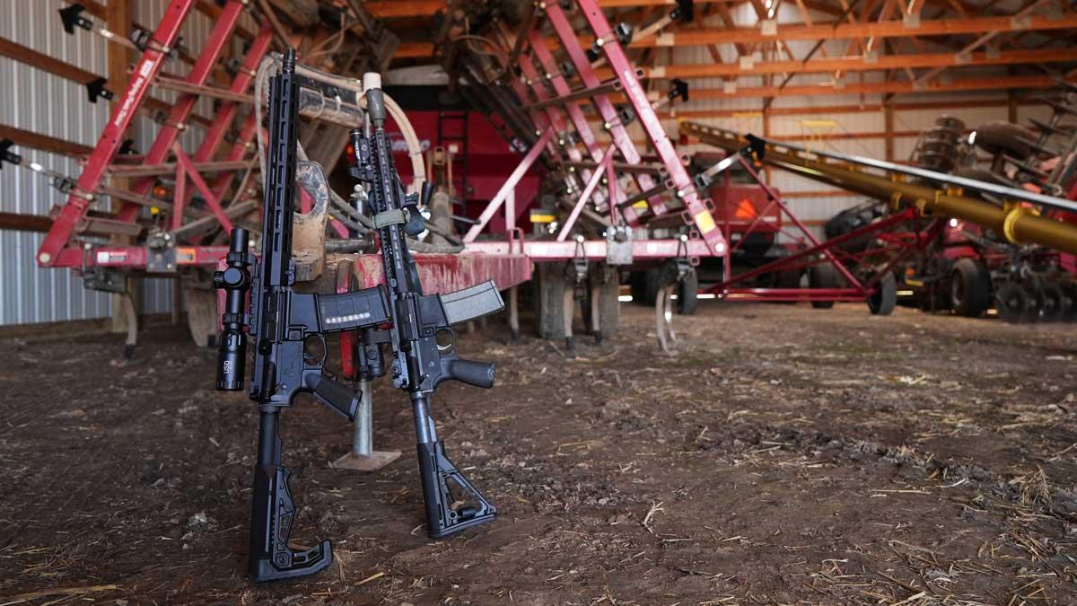 Noveske and ZRO Delta AR-25 Rifle