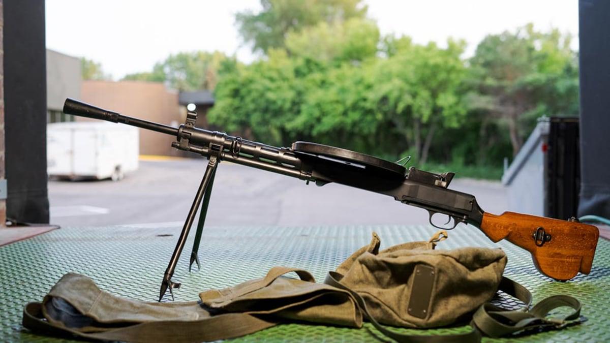 Smith Machine Group SMG DPM DP-28 semi auto rifle