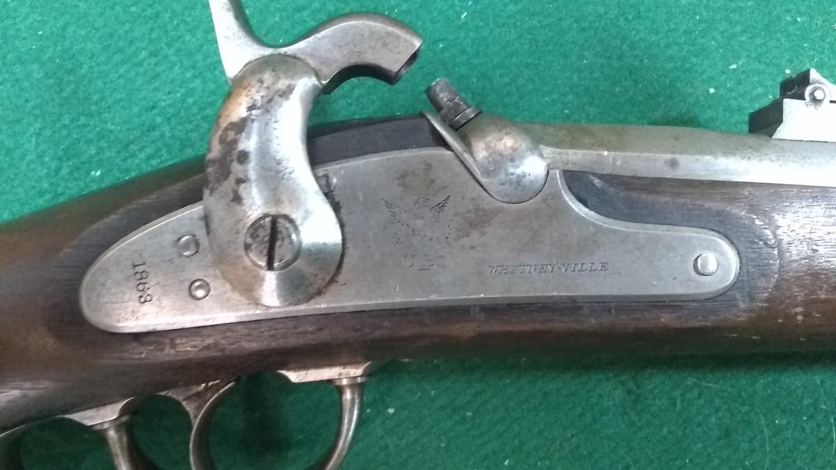 WHITNEY 1863 Naval Rifle