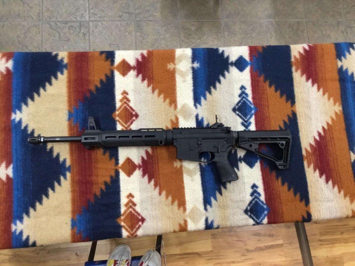 SAVAGE ARMS MSR-15 PATROL
