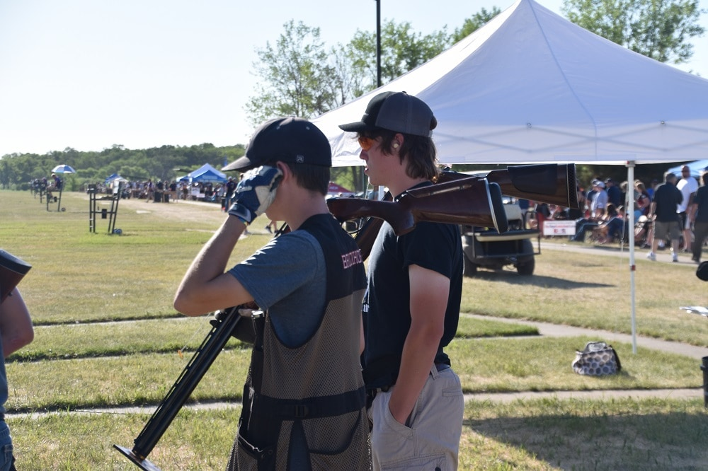 Safety in clays competition
