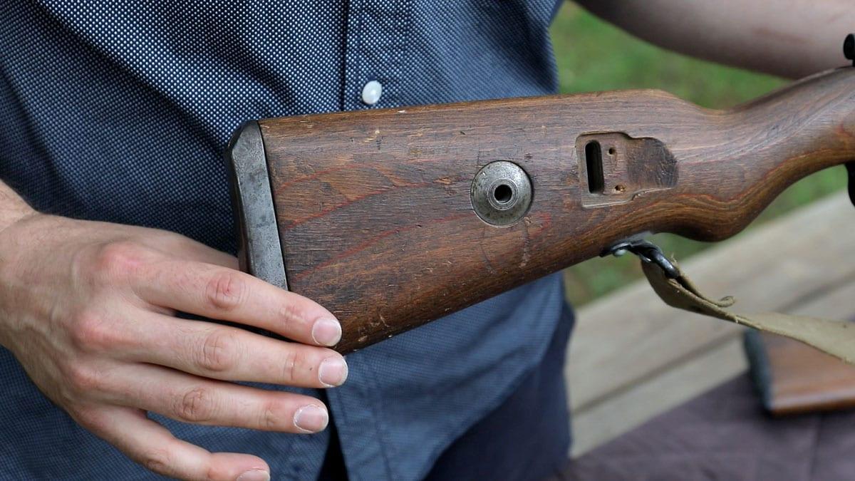 Mauser K98 Stock Disk