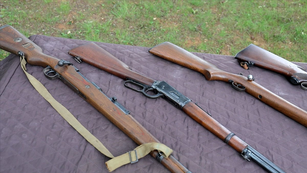Old Rifle Collection