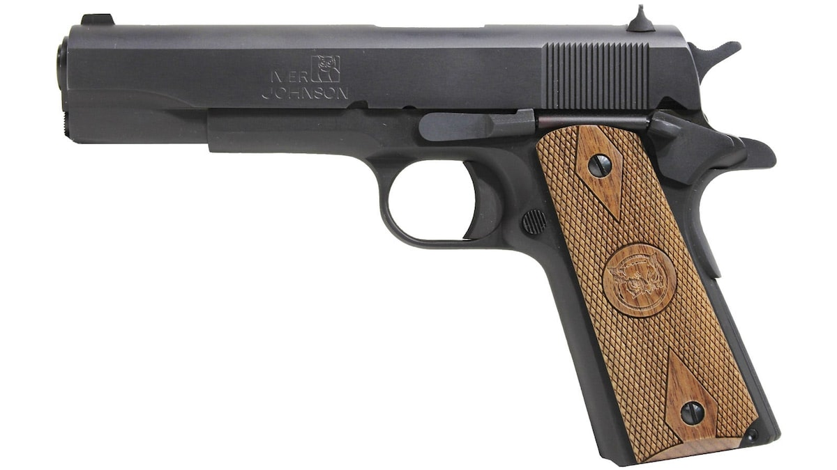 IVER JOHNSON 1911 A1 GOVERNMENT