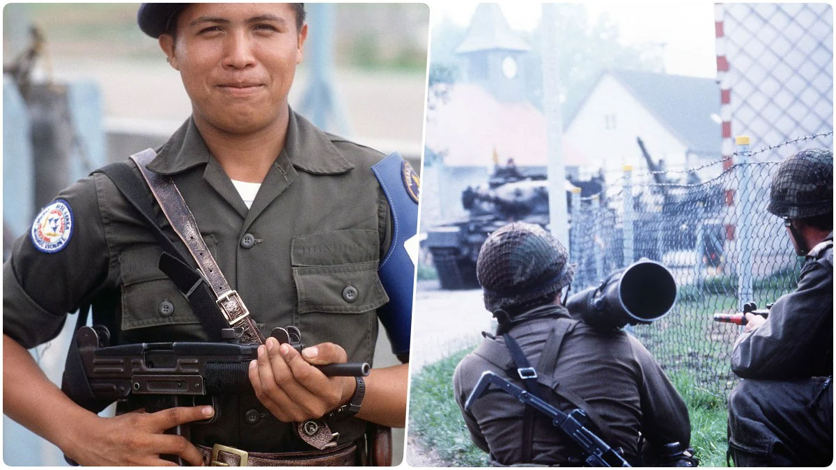 IMI Uzi 9mm In Use With Foreign Militaries