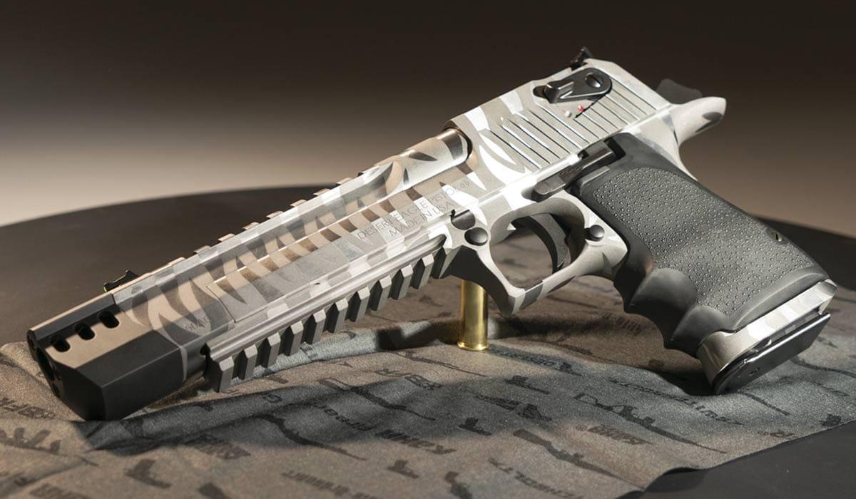 Desert Eagle 50 ae hand cannon
