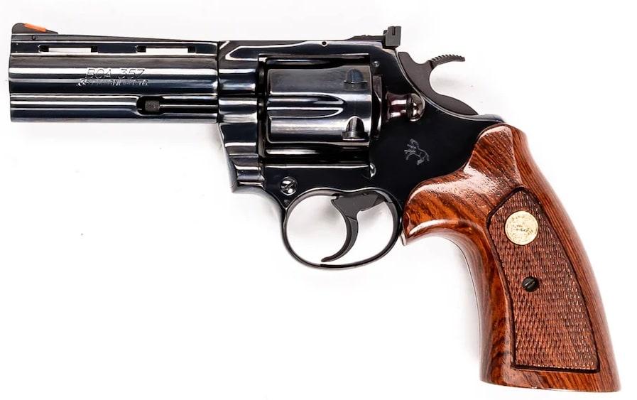 Colt BOA 4 inch 357 magnum revolver No 513 of 1200