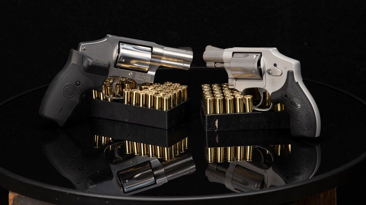 S&W 640-3 & 642-2 Airweight Revolver