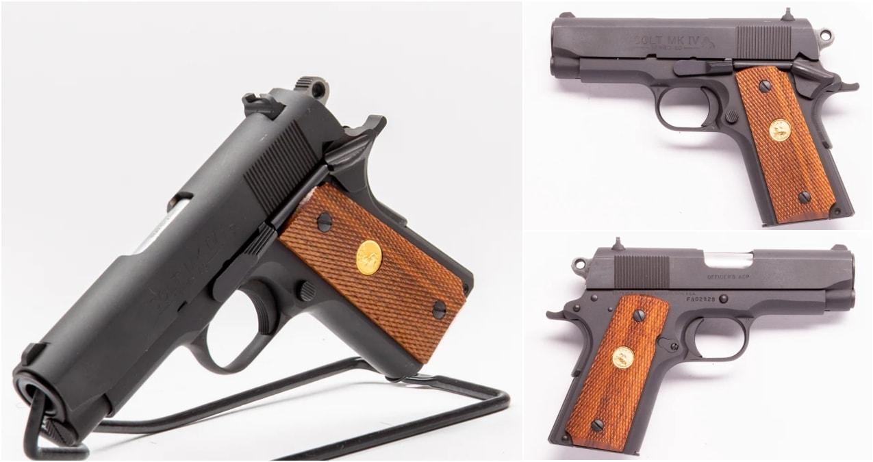 Colt Officers model