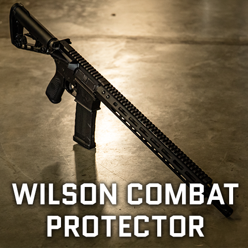 Wilson Combat Protector Carbine Lifestyle Square Tile Banner