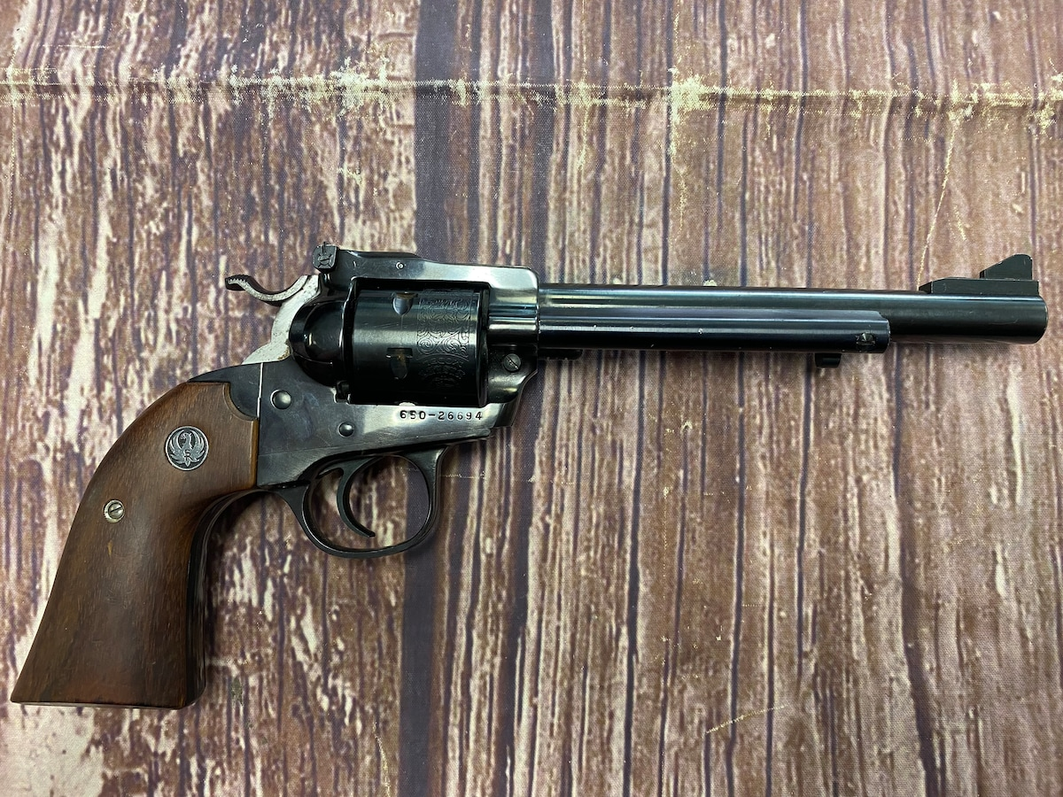 RUGER Model Single Six Bisley 32 H&R Magnum Mag