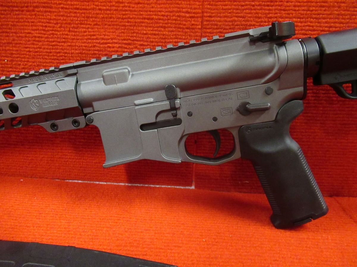 WOLFPACK ARMORY WP15