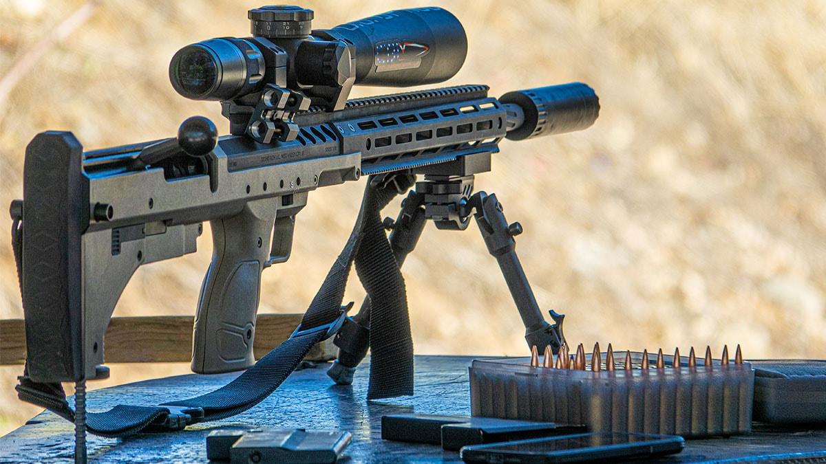 Desert Tech SRS Rifle Chambered in 6mm GT