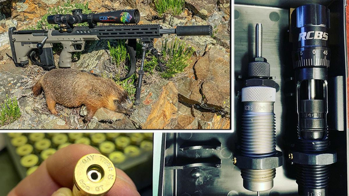 Desert Tech SRS M2 Rifle Chambered in 6mm GT