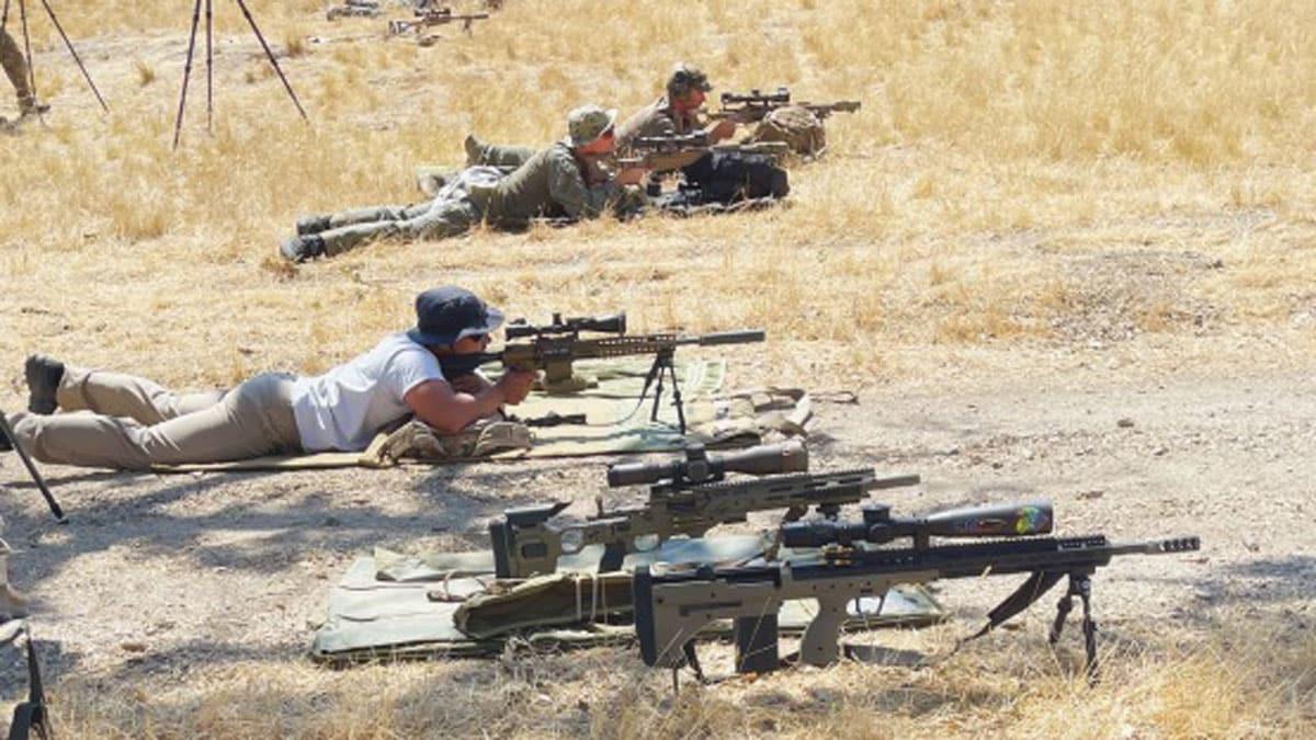 Precision Rifle Shooting Training