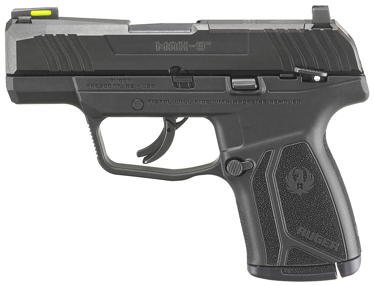 Ruger Max-9 Optic Ready