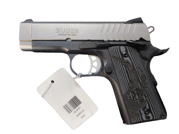 RUGER SR1911 OFFICER-STYLE w/5 Ruger Mags, Original Box