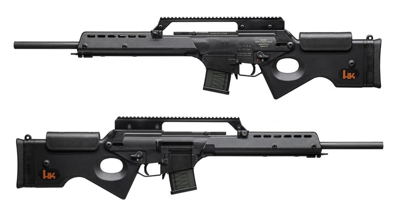 HK SL8-6 rifle