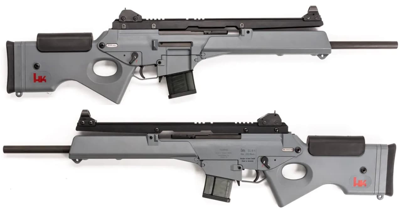 HK SL8-1 rifle