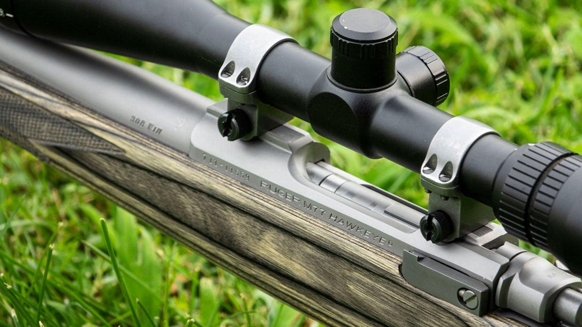 Ruger M77 Hawkeye .308 Rifle