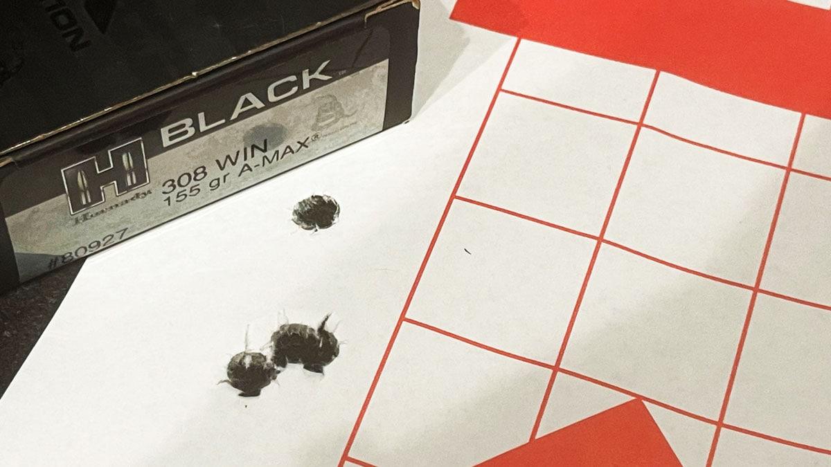 Target Ruger M77 .308 Rifle