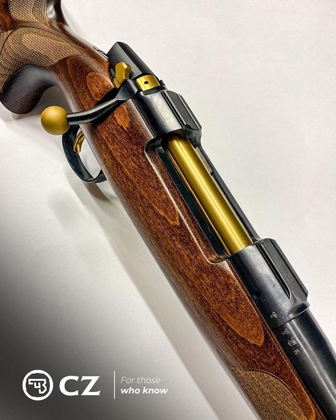 85th Anniversary CZ 557 rifle