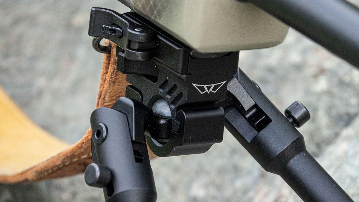 Warne Bipod on Rifle