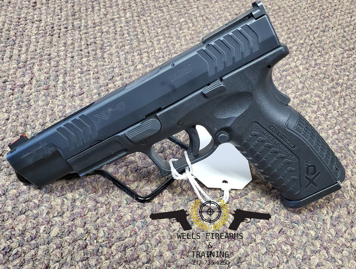 SPRINGFIELD ARMORY XDM-9 COMPETITION