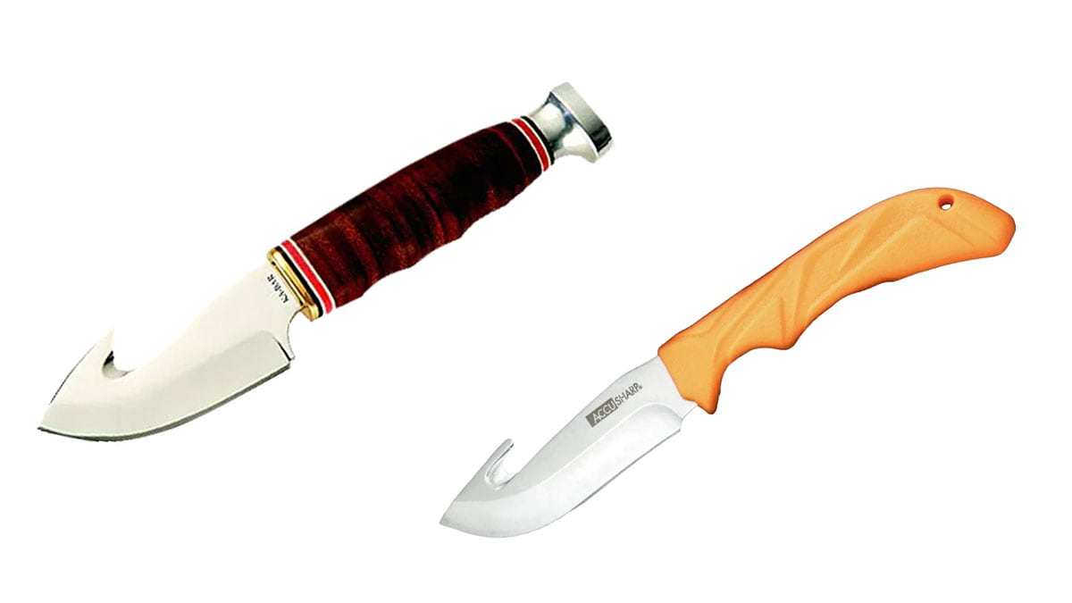 Gut Hook Hunting Knives