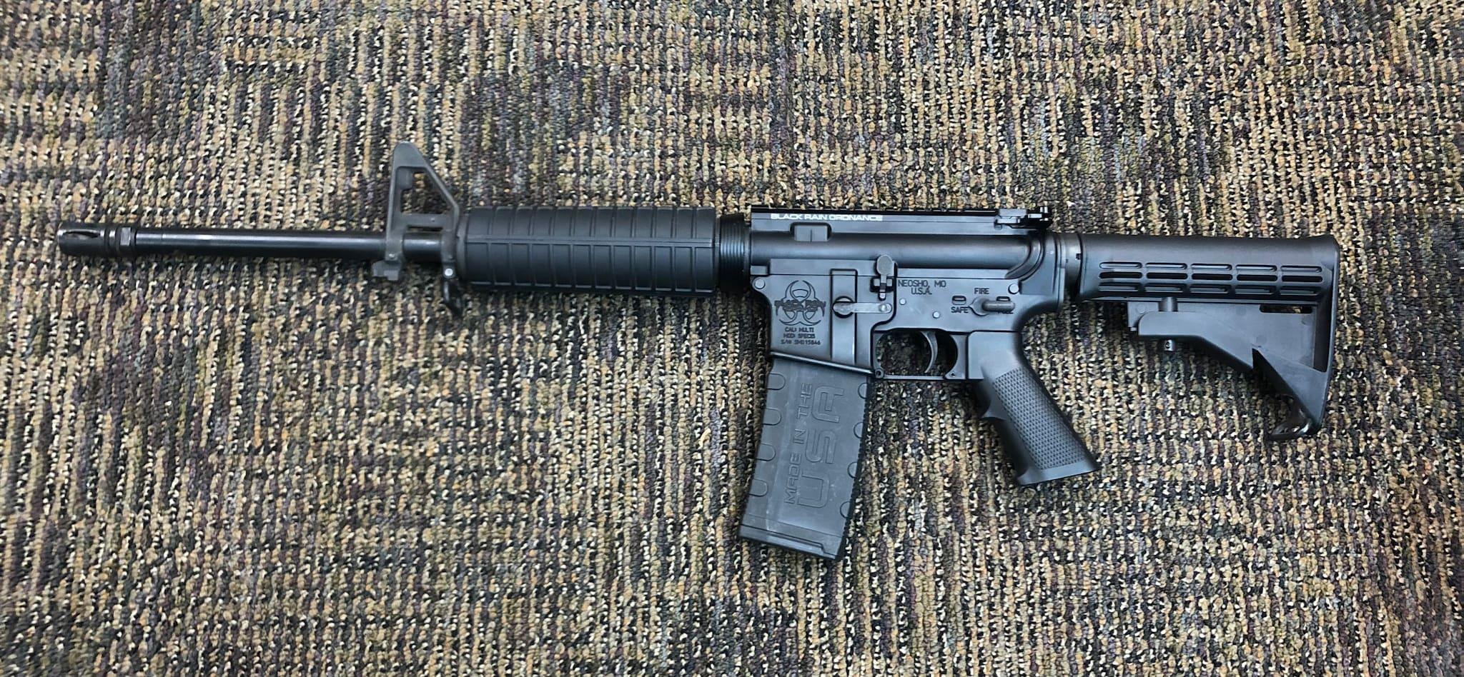 BLACK RAIN ORDNANCE Black Rain Ordnance, SPEC15, Semi-automatic Rifle, 223 Rem/556NATO, 16