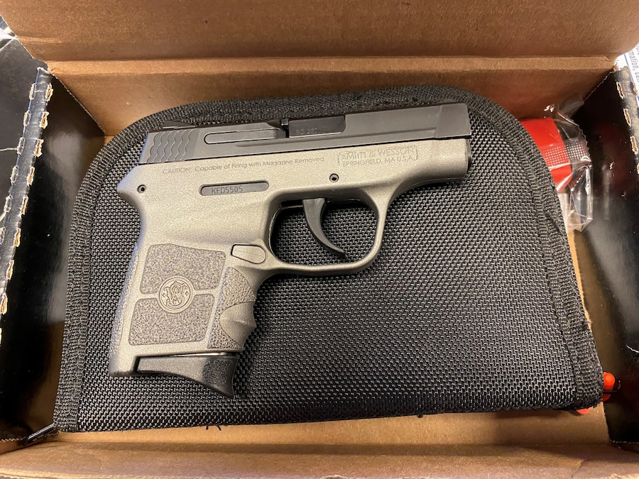 SMITH AND WESSON BG380