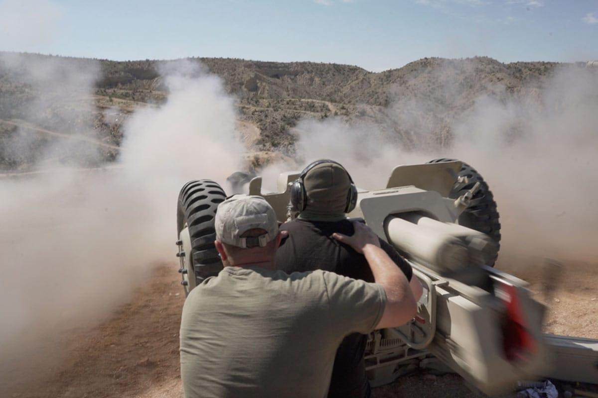 Russian d-30 122mm howitzer battlefield vegas big sandy bphilippi