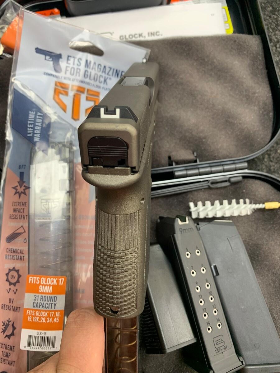 GLOCK 19 G19 GUN METAL 31 ROUND MAGAZINE