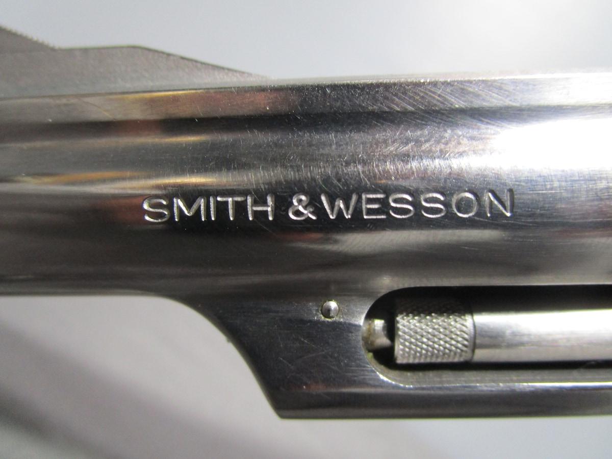 SMITH & WESSON MODEL 66 NO DASH