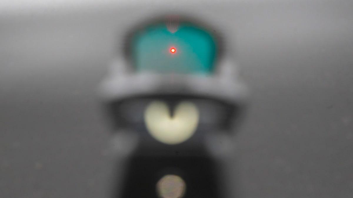 Pistol red dot sight
