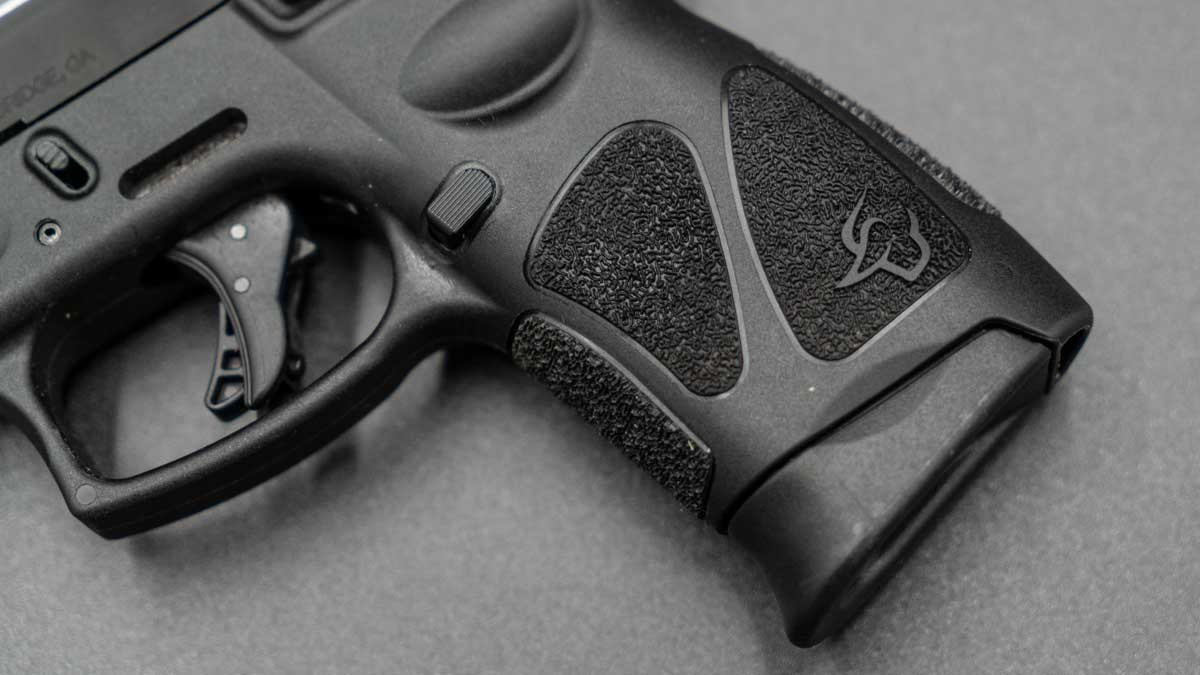 Taurus G3c grip texture