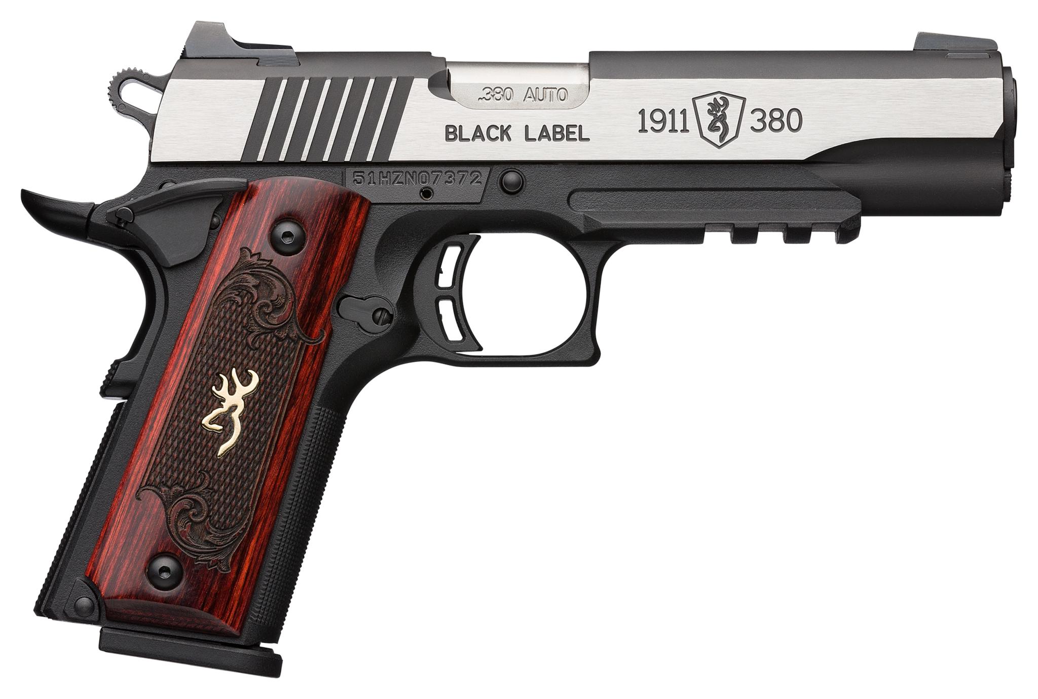 Browning 1911-380 Black Label Medallion Pro