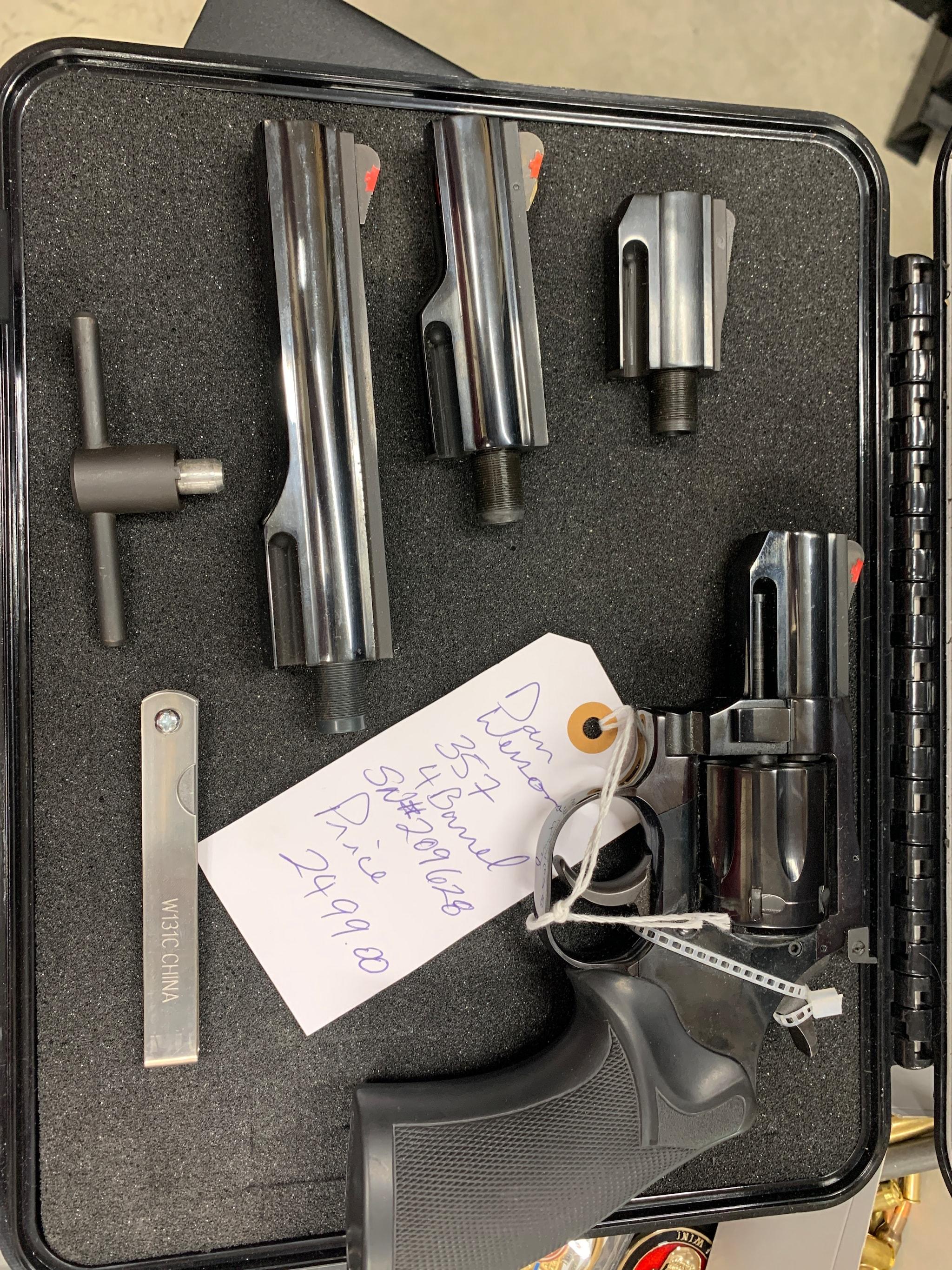 DAN WESSON FIREARMS 357 Magnum ctg