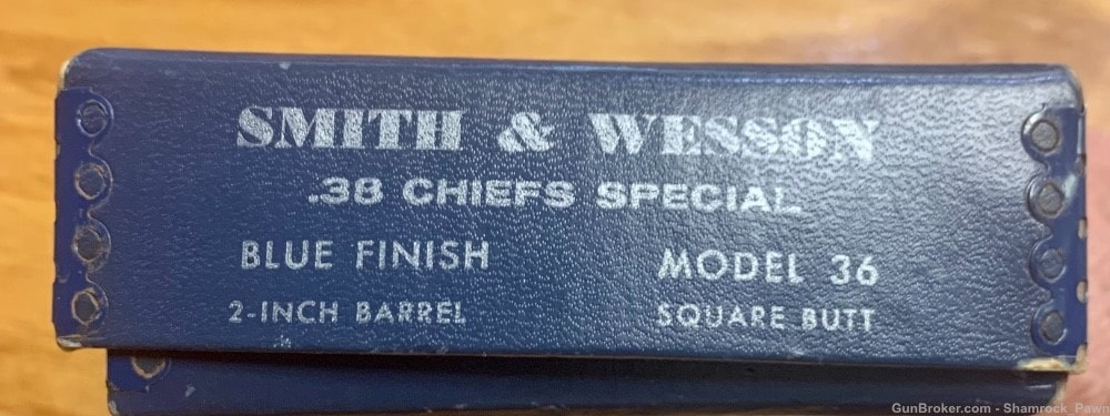 SMITH AND WESSON 36 Chiefs Special