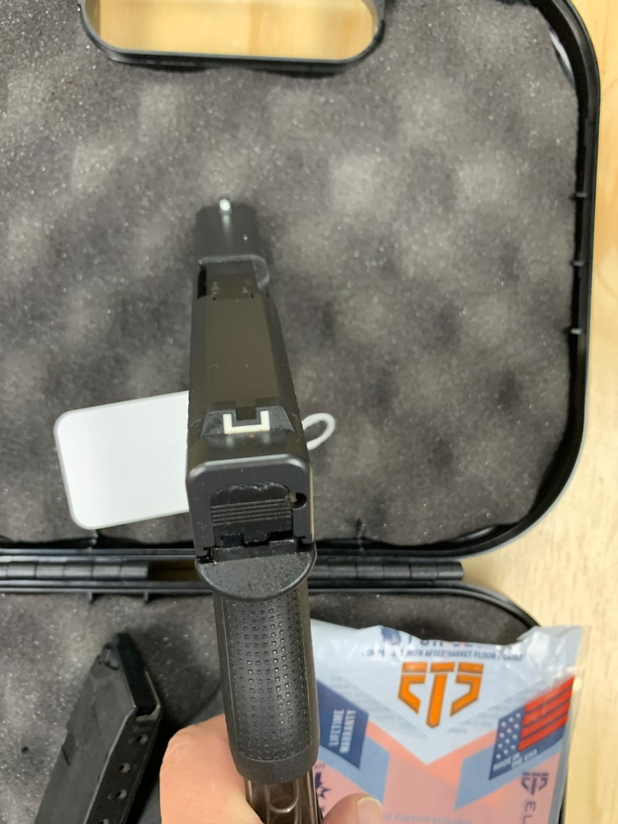 GLOCK 43 G43 12 AND 8 ROUND MAGAZINES
