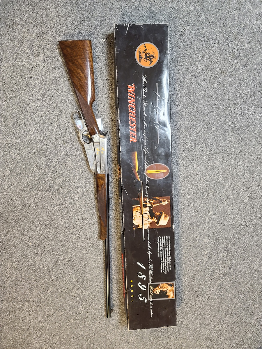 WINCHESTER 1895 HG 100th Anniversary Teddy Roosevelt