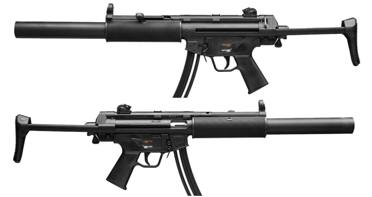 HK MP5 22LR model carbine