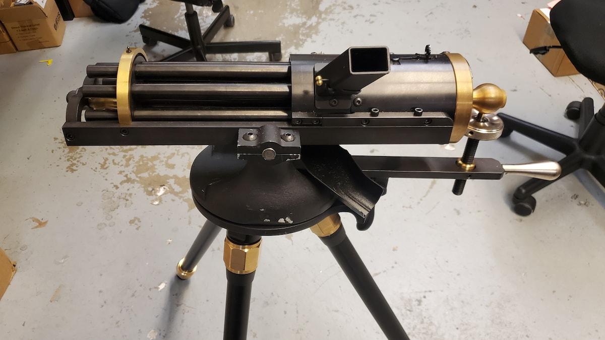 TIPPMAN ARMORY 9mm gatling gun
