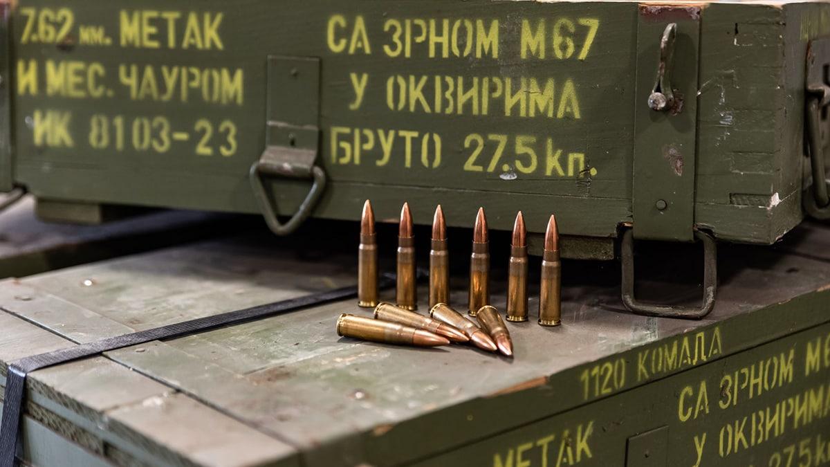 Yugoslavian 7.62x39 ammo