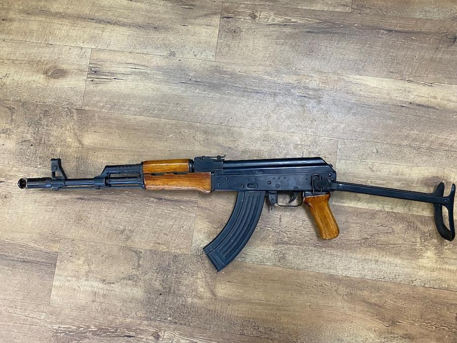POLY TECH AK 47 AKS - 762 Folding Stock Wood Furniture pre ban